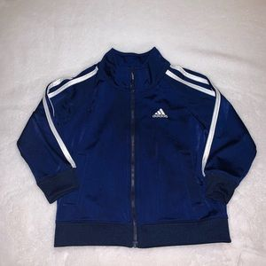 Adidas track jacket.